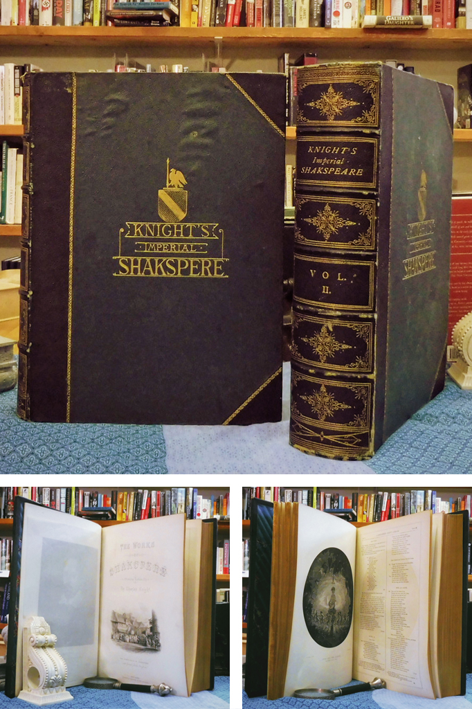 The Works Of Shakspere - Imperial Edition - 43 Steel Engraved Plates